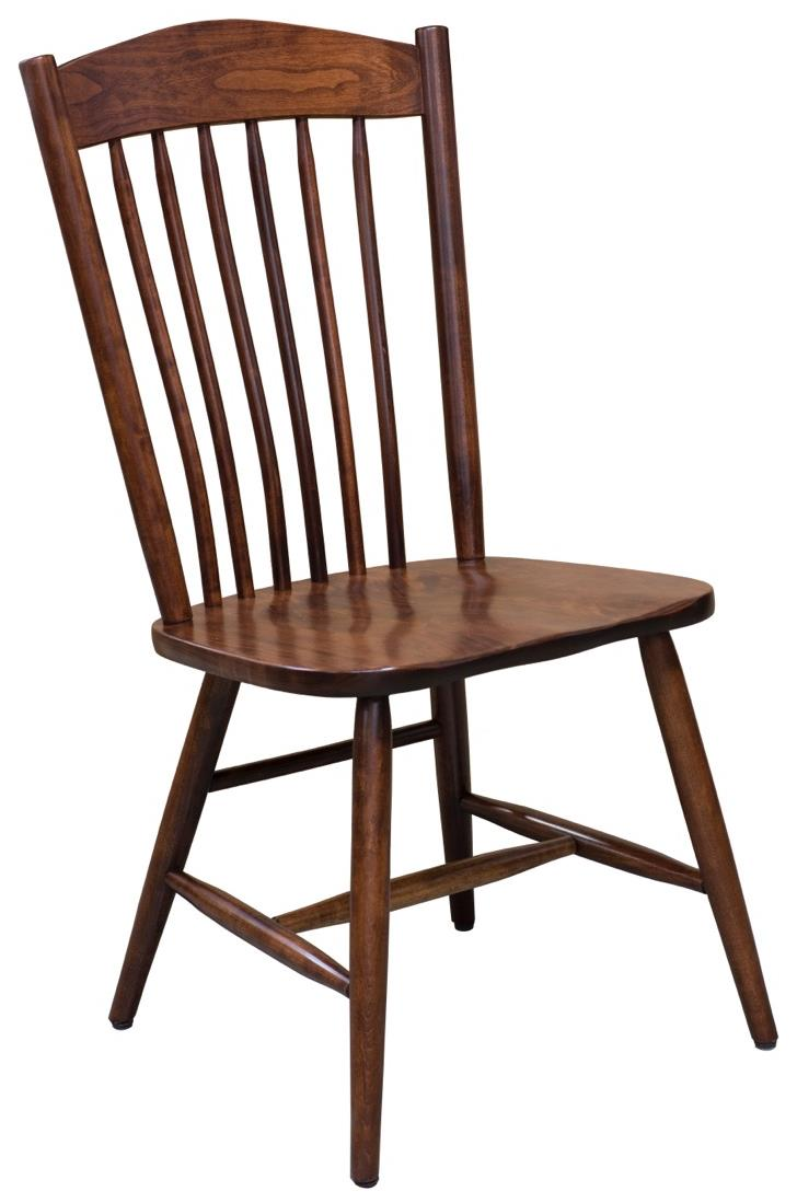 Trailway Wood Freeport <b>Customizable</b> Side Chair - Item Number: FP902-S