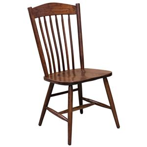 Trailway Wood Freeport <b>Customizable</b> Side Chair