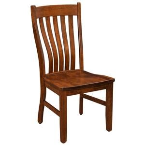 Trailway Wood STM Solid Wood Amish Side Chair
