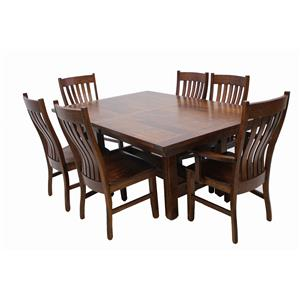 Trailway Wood STM 7-Piece Dining Set