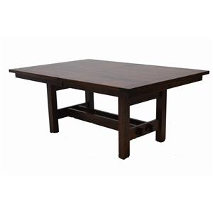 Trailway Wood STM Solid Wood Amish Table
