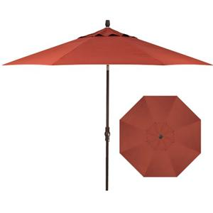 Treasure Garden Market Umbrellas 11' Market Collar Umbrella