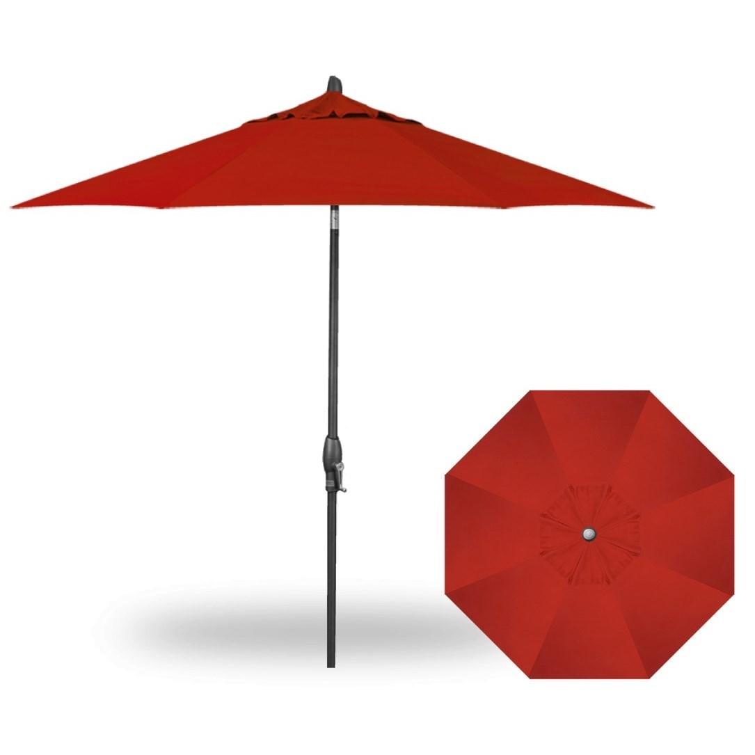 Market Umbrellas 9' Auto Tilt Umbrella by Treasure Garden at Esprit Decor Home Furnishings