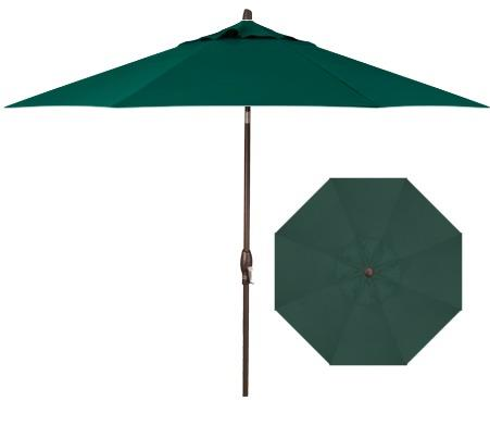 Belfort Umbrellas Market Umbrellas 11' Auto Tilt Market Umbrella - Item Number: UM8120DWV-5446
