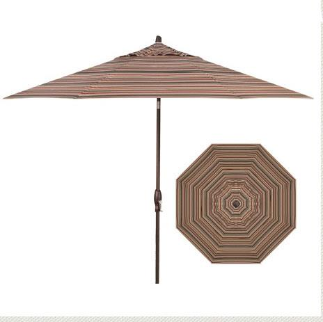 Market Umbrellas 11' Auto Tilt Market Umbrella by Treasure Garden at Becker Furniture