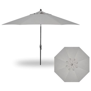 11' Auto Tilt Market Umbrella
