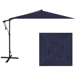 Treasure Garden Cantilever Umbrellas 8.5' Square Cantilever Umbrella