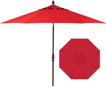 Belfort Umbrellas Market Umbrellas 9' Collar Tilt Umbrella - Item Number: UM8000-4803C-SWV