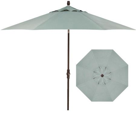Belfort Umbrellas Market Umbrellas 9' Collar Tilt Umbrella - Item Number: UM8000-4813C-SWV