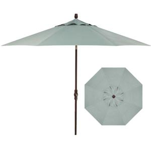 Treasure Garden Market Umbrellas 9' Collar Tilt Umbrella
