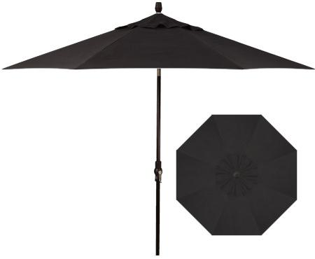 Belfort Umbrellas Market Umbrellas 9'Collar Tilt Umbrella - Item Number: UM8009-4808C-SWV
