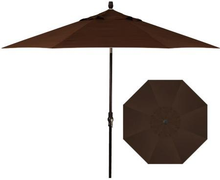 Belfort Umbrellas Market Umbrellas 9'Collar Tilt Umbrella - Item Number: UM8009-4827C-SWV