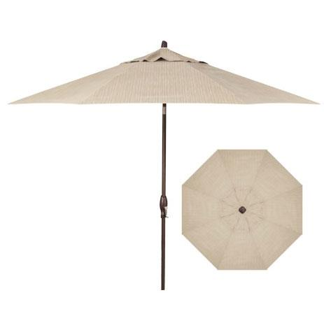 Belfort Umbrellas Market Umbrellas 9' Auto Market Tilt Umbrella - Item Number: UM8100-48011