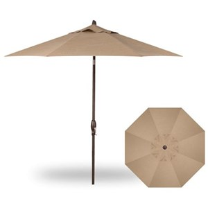9' Auto Market Tilt Umbrella