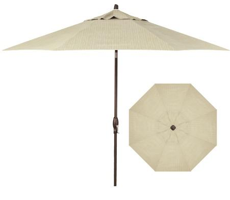 Belfort Umbrellas Market Umbrellas 9' Auto Market Tilt Umbrella - Item Number: UM8100-4876-SWV