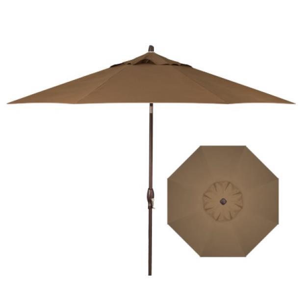 Belfort Umbrellas Market Umbrellas 9' Auto Market Tilt Umbrella - Item Number: UM8100-5425-SWV