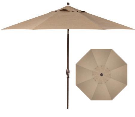 Belfort Umbrellas Market Umbrellas 9' Auto Market Tilt Umbrella - Item Number: UM8100-8318-SWV
