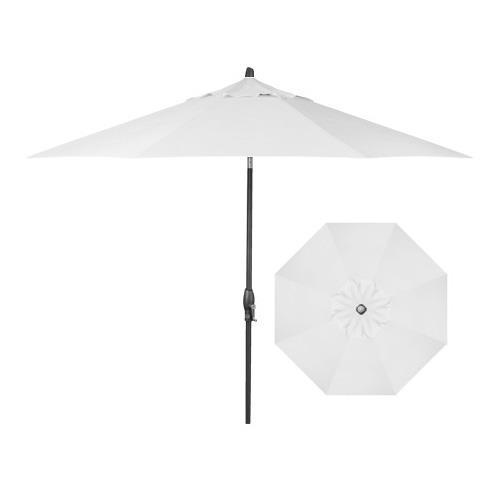 Belfort Umbrellas Market Umbrellas 9' Auto Market Tilt Umbrella - Item Number: UM8102-ANTH-4804