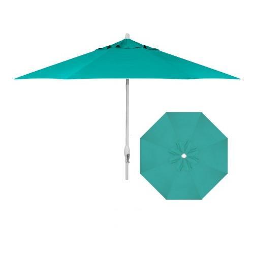 Belfort Umbrellas Market Umbrellas 9' Auto Market Tilt Umbrella - Item Number: UM8103-WHITE-4816