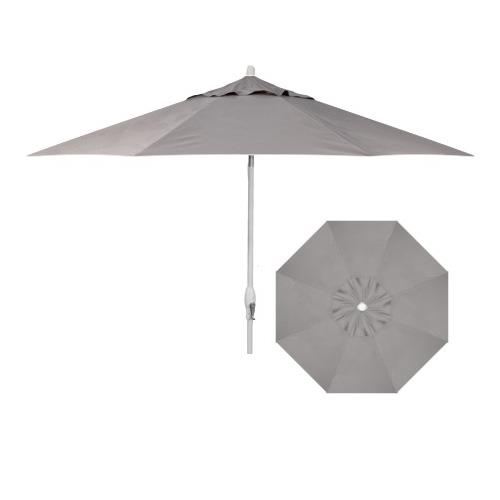 Belfort Umbrellas Market Umbrellas 9' Auto Market Tilt Umbrella - Item Number: UM8103-WHITE-4820