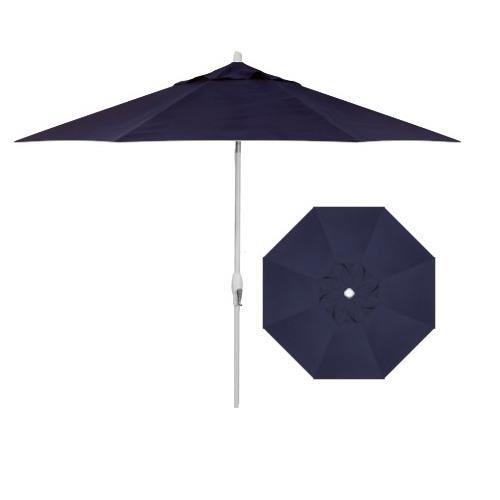 Belfort Umbrellas Market Umbrellas 9' Auto Market Tilt Umbrella - Item Number: UM8103-WHITE-4839