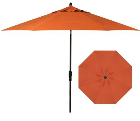 Belfort Umbrellas Market Umbrellas 9' Auto Market Tilt Umbrella - Item Number: UM8109-4815-SWV