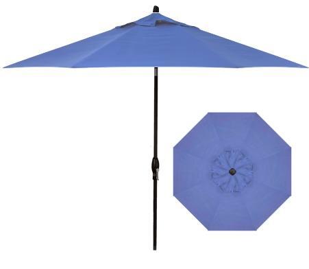 Belfort Umbrellas Market Umbrellas 9' Auto Market Tilt Umbrella - Item Number: UM8109-4826-SWV