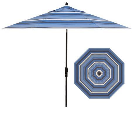 Belfort Umbrellas Market Umbrellas 9' Auto Market Tilt Umbrella - Item Number: UM8109-4899-SWV