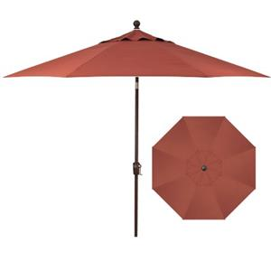 Belfort Umbrellas Push Button Market Umbrellas 9' Push Button Tilt