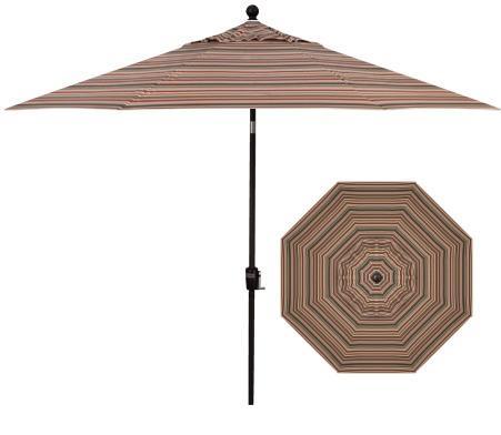 Belfort Umbrellas Push Button Market Umbrellas 9' Umbrella - Item Number: UM9209-5612-SWV