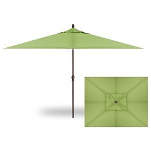 Rectangle Auto Tilt Market Umbrella