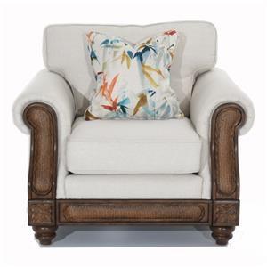 Rattan Detail Chair