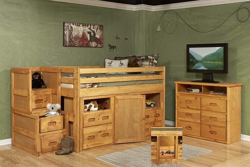 Junior Loft Twin Storage Bed