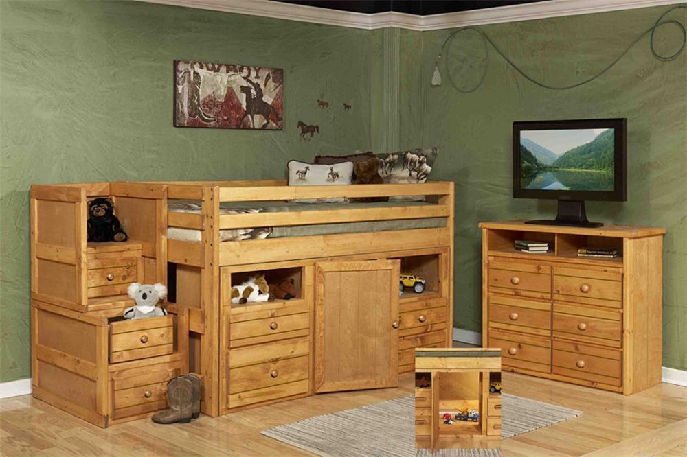 Trendwood 4100 Junior Loft Bed - Item Number: 4136