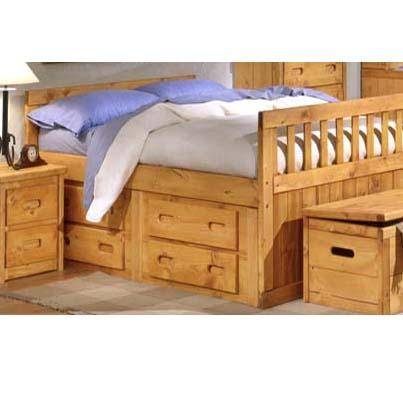 Trendwood 4100 Captains Bed - Item Number: 4813