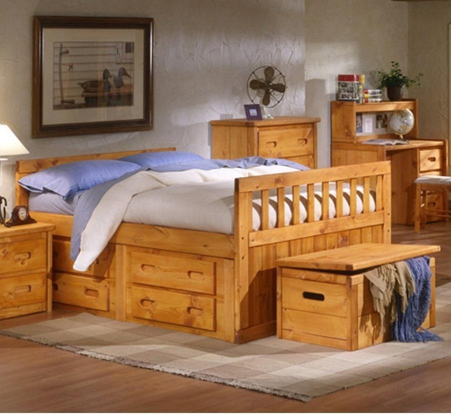 Trendwood Bayview Bayview Twin Captainu0027s Bed   Item Number: $$4813CI144757  TW CPTNS BD