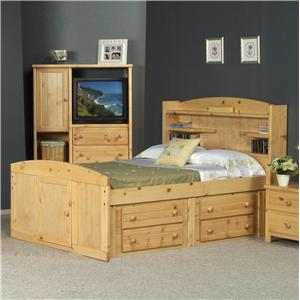 Trendwood Bayview Twin Palomino Bed