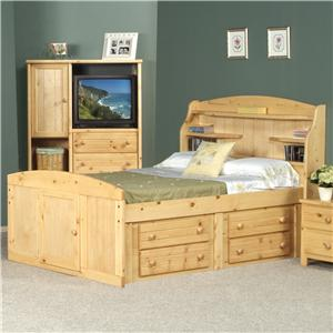 Trendwood Bayview Full Dakota Bed