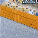 Trendwood Bayview Two Drawer Underdresser - Item Number: 4802CI