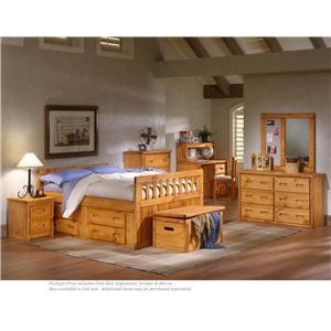 Trendwood Bayview 4-PC Twin Bedroom