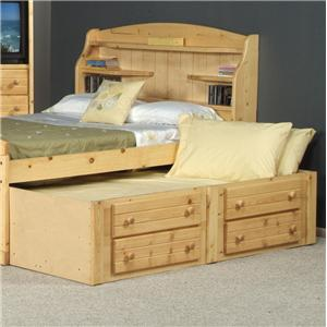 Trendwood Bayview Twin Captain's Trundle