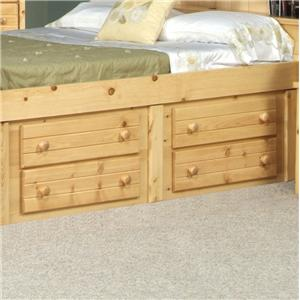 Trendwood Bayview Four Drawer Underdresser