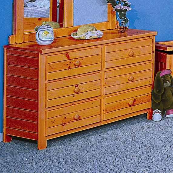 Trendwood Bayview Six Drawer Dresser Conlin S Furniture