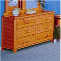 Trendwood Bayview Dresser - Item Number: 4822CI