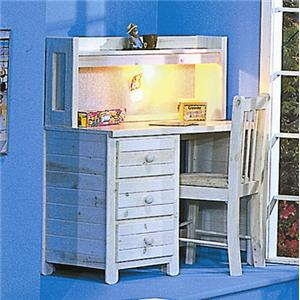 Trendwood Bayview Student Desk and Hutch