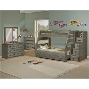 Trendwood Bunkhouse Bunk Bed