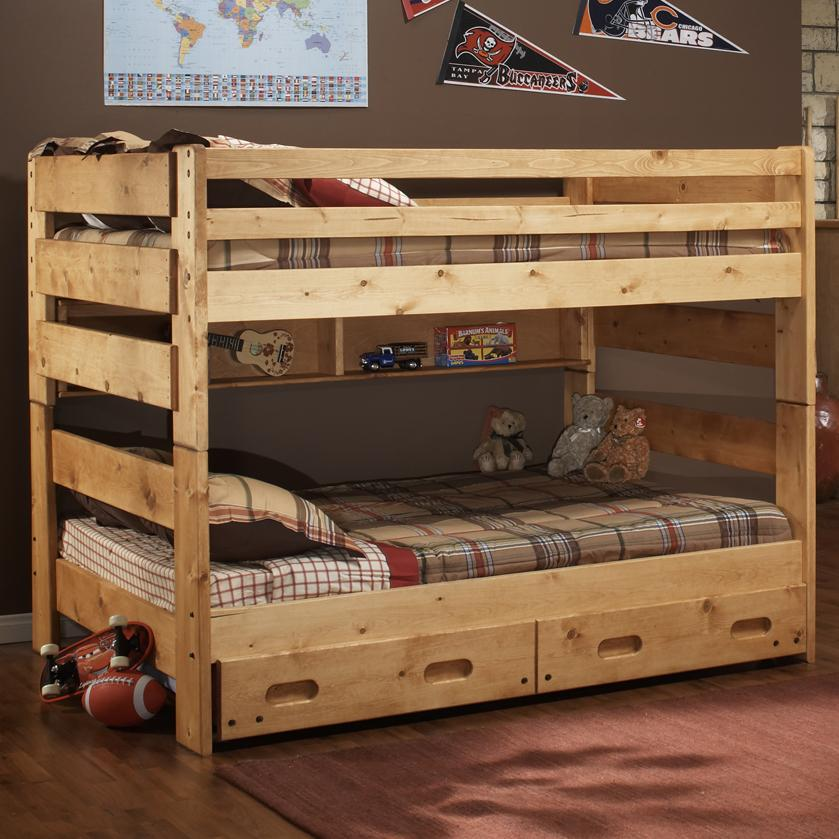 Trendwood Bunkhouse Full Big Sky Bunk Bed Boulevard Home