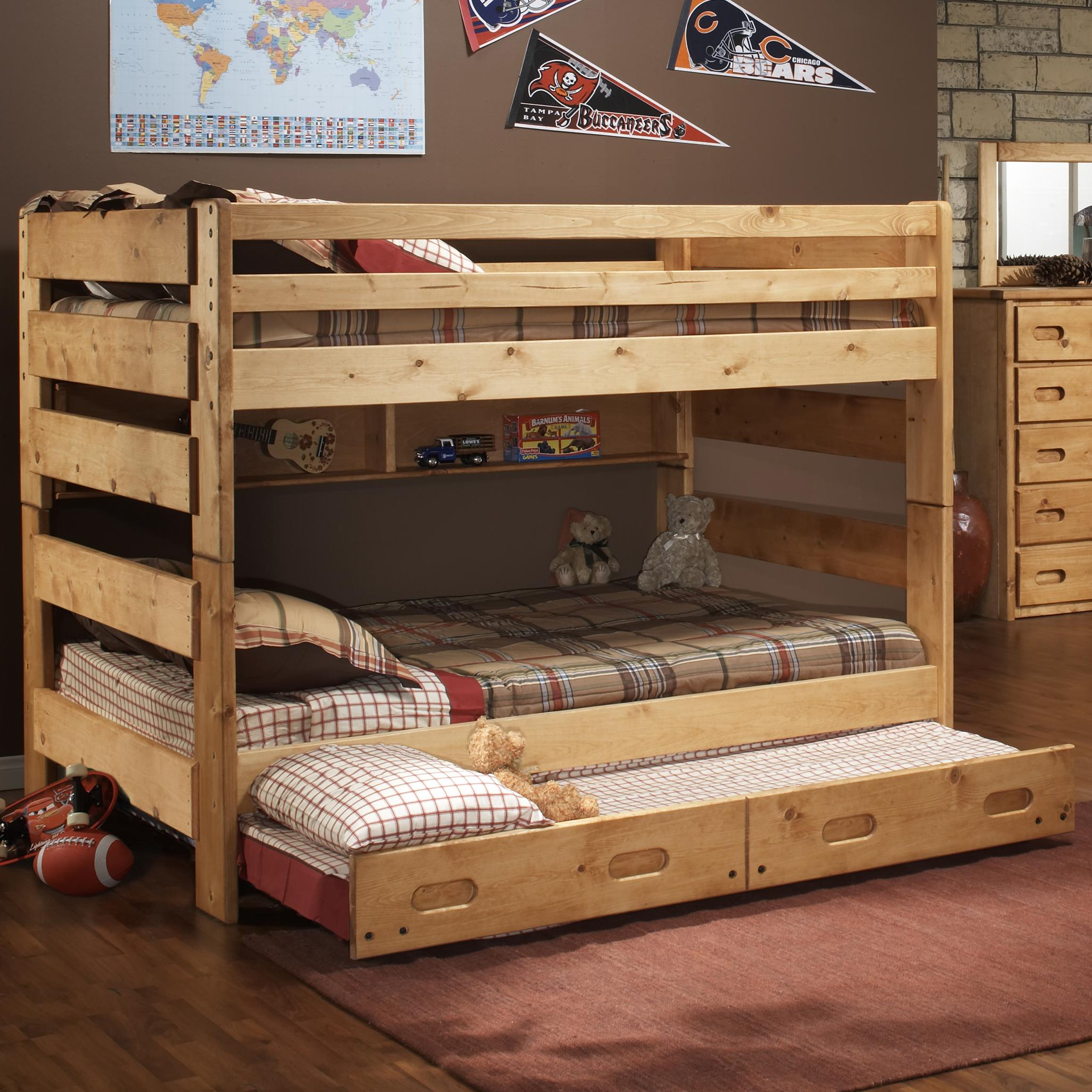 Trendwood Bunkhouse Full Big Sky Bunk Bed John V Schultz