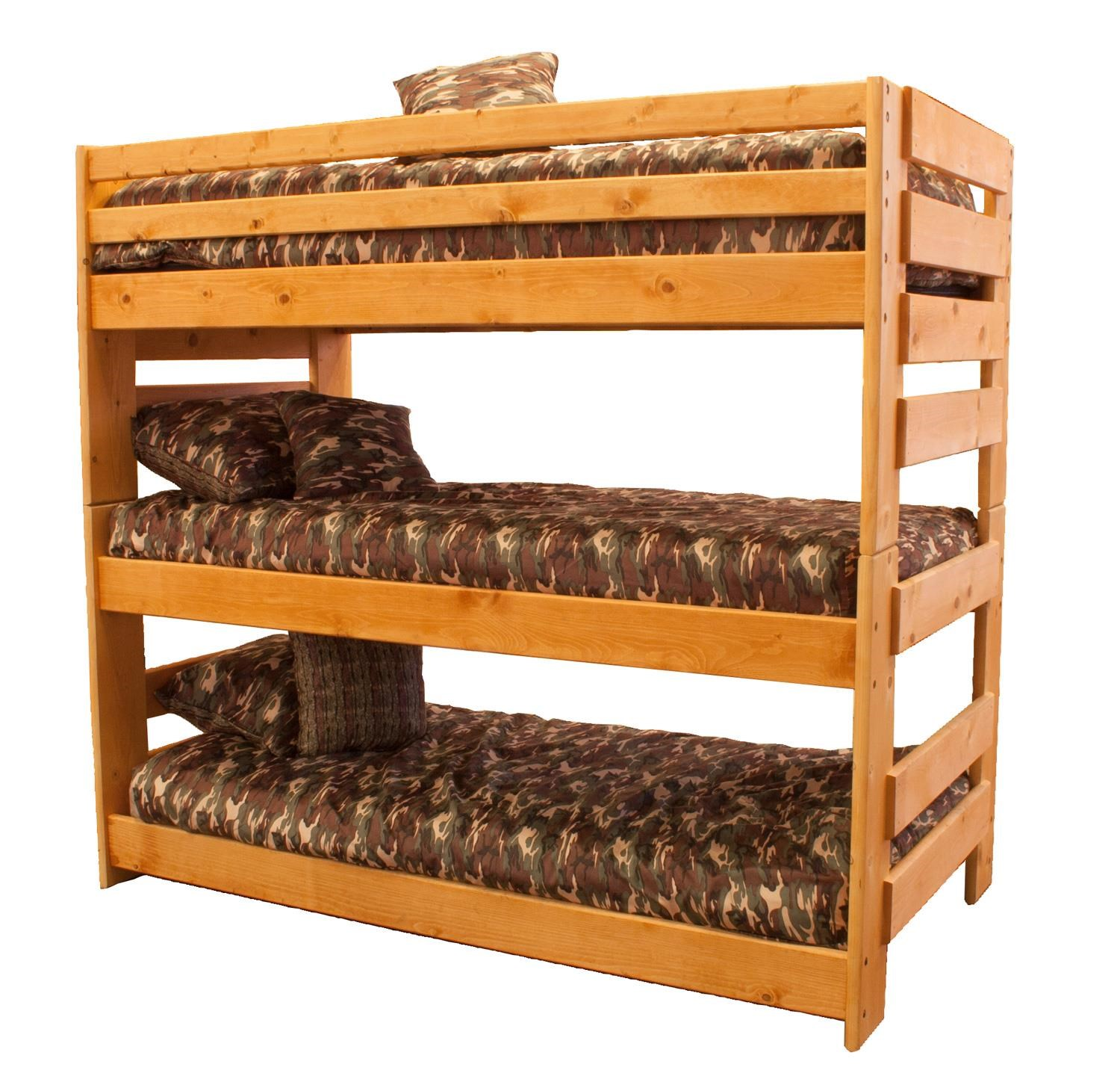 Trendwood Bunkhouse Triple Bunk Bed