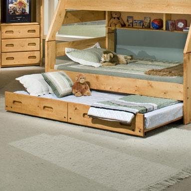 Trendwood Bunkhouse Trundle Bed Twin Conlin S